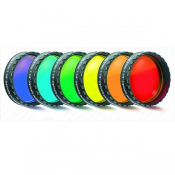 """Набор цветных фильтров, 1,25"""" Celestron  - 6 шт."""