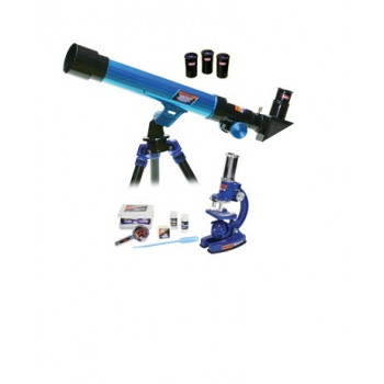 Набор Eastcolight: телескоп 30/400 и микроскоп 100-450x, в подарочном кейсе