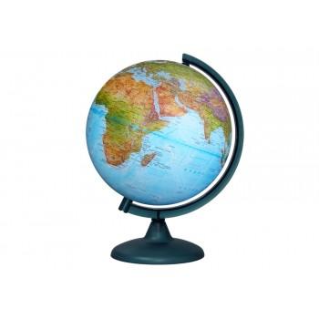 Глобус «Двойная карта» диаметром 250 мм, с подсветкой