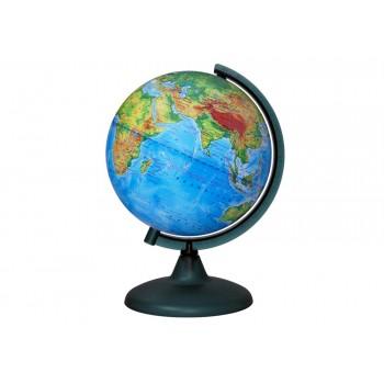 Глобус физический диаметром 210 мм, с подсветкой