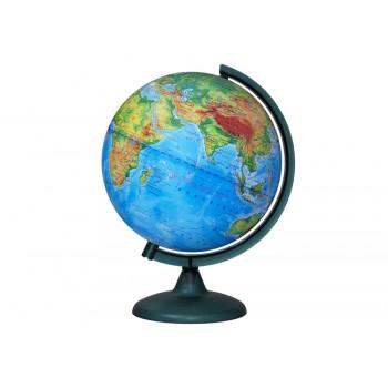 Глобус физический диаметром 250 мм