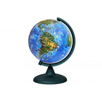 Глобус Земли для детей, диаметром 210 мм