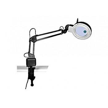 Лупа-лампа Kromatech бестеневая 2x/20x, 85/22 мм, на струбцине, с подсветкой (40 LED)