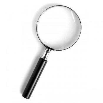 Лупа Kromatech ручная круглая 2,5х, 100 мм, в металлической оправе