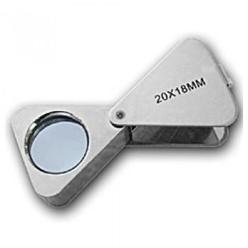 Лупа Kromatech ювелирная треугольная 20x, 18 мм MG23196A