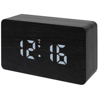 Часы настольные Bresser MyTime W Color LED, черные
