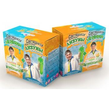 Набор для опытов «Инновации для детей» 828 «Светящиеся червяки и лизуны»
