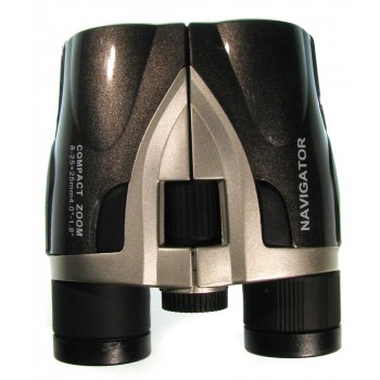 Бинокль Navigator 8-25х25, серебристо-серый