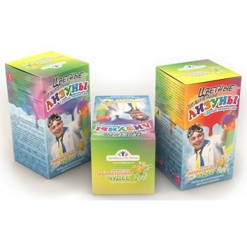 Набор для опытов «Инновации для детей» 819 «Цветные лизуны»
