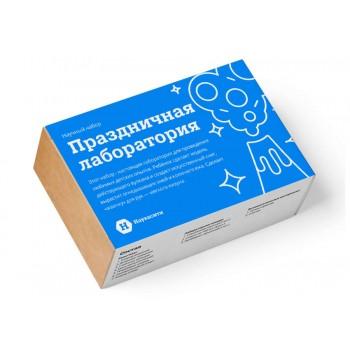 Набор опытов химических «Праздничная лаборатория» 6+