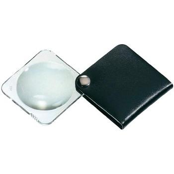 Лупа складная двояковыпуклая Eschenbach Classic 3,5x, 60 мм, черный чехол (квадратный)