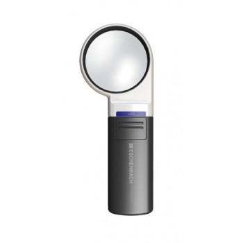 Лупа на ручке асферическая Eschenbach Mobilux LED 3x, 60 мм, с подсветкой