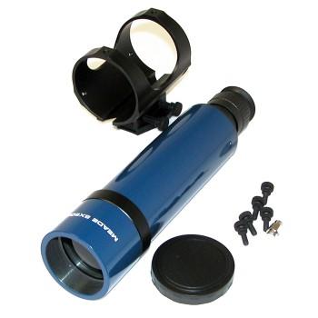 Искатель оптический Meade 8х50, прямого зрения, с крепежной скобой (синий, №828)