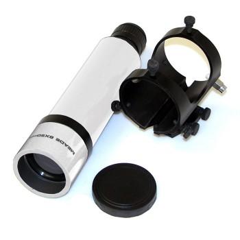 Искатель оптический Meade 8х50, прямого зрения, с крепежной скобой (белый, №829)