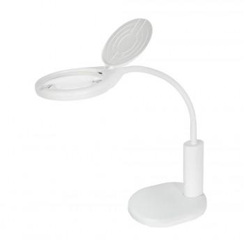 Лупа-лампа Veber 8611 2D LED с аккумуляторным питанием