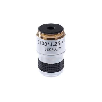 Объектив для микроскопа 100х/1,25ми 160/0,17 (стандарт RMS)
