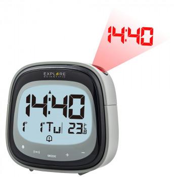 Часы цифровые Explore Scientific с проектором, черные